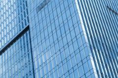 Абстрактная часть современного офисного здания Стоковое Фото