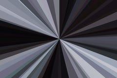 Абстрактная черная, белый, контраст, излучает конфигурацию пучка излучения нашивок предпосылки Тенденция стильной иллюстрации сов бесплатная иллюстрация