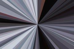 Абстрактная черная, белый, контраст, излучает конфигурацию пучка излучения нашивок предпосылки Тенденция стильной иллюстрации сов иллюстрация штока