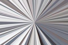Абстрактная черная, белый, контраст, излучает конфигурацию пучка излучения нашивок предпосылки Тенденция стильной иллюстрации сов иллюстрация вектора