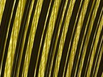 Абстрактная черная и желтая striped фракталь текстурировала предпосылку бесплатная иллюстрация