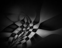 Абстрактная черная предпосылка для дизайна Стоковые Фотографии RF
