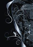 абстрактная чернота предпосылки Стоковые Изображения RF