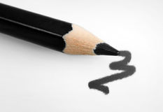 Абстрактная чернота чертежа Стоковое фото RF