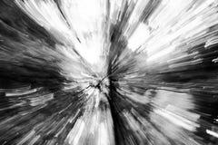 Абстрактная черно-белая предпосылка с движением, фото стоковые изображения rf