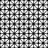 Абстрактная черно-белая безшовная предпосылка Стоковая Фотография