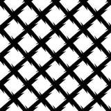 Абстрактная черно-белая геометрическая картина Плавно repeatabl иллюстрация штока