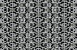 абстрактная черно-белая предпосылка картин Стоковое фото RF