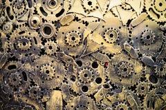 абстрактная шестерня предпосылки Стоковое Фото