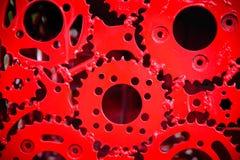 абстрактная шестерня предпосылки Стоковые Фотографии RF