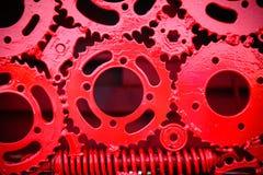 абстрактная шестерня предпосылки Стоковые Фото