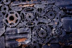 абстрактная шестерня предпосылки Стоковое Изображение RF