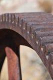 абстрактная шестерня ржавая Стоковые Изображения