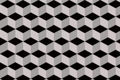 Абстрактная шестиугольная предпосылка кубов Стоковая Фотография RF