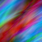 Абстрактная шелковистая предпосылка вектора в красных и голубых цветах Стоковые Фотографии RF