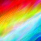 Абстрактная шелковистая предпосылка вектора в ярких цветах Стоковые Фото