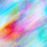 Абстрактная шелковистая предпосылка вектора в яркой и пастельных цветах Стоковая Фотография RF