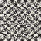 Абстрактная шумная текстурированная геометрическая предпосылка форм Картина вектора безшовная grungy Стоковое Изображение