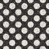 Абстрактная шумная текстурированная предпосылка форм Картина вектора безшовная винтажная grungy Стоковое Изображение RF