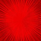 Абстрактная шуточная красная предпосылка для дизайна искусства шипучки стиля Ретро фон шаблона взрыва Влияние световых лучей бесплатная иллюстрация