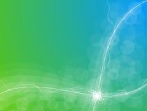 абстрактная энергия предпосылки иллюстрация вектора