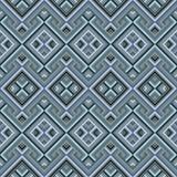 Абстрактная этническая безшовная геометрическая картина Стоковая Фотография