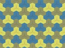 Абстрактная этническая безшовная геометрическая картина Стоковое Изображение RF