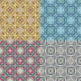 Абстрактная этническая безшовная геометрическая картина Стоковое Фото