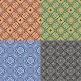 Абстрактная этническая безшовная геометрическая картина Стоковые Фотографии RF