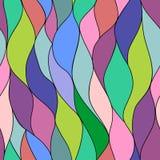 Абстрактная этническая безшовная геометрическая картина Стоковые Изображения RF