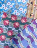 абстрактная этническая картина безшовная Племенная печать boho искусства Стоковое Фото