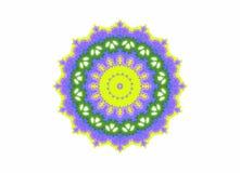 Абстрактная яркая форма цвета Стоковое Изображение RF