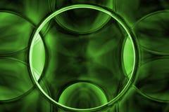 абстрактная alien кристаллическая зеленая текстура Стоковое фото RF