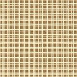 Абстрактная Checkered безшовная текстура Doodle картины Стоковые Фото