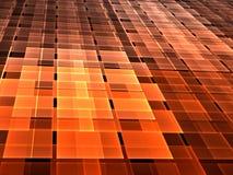 Абстрактная checkered предпосылка - цифров произведенное изображение Стоковая Фотография RF