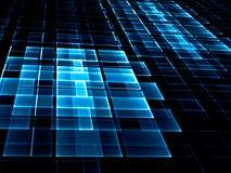 Абстрактная checkered предпосылка - цифров произведенное изображение Стоковое Изображение