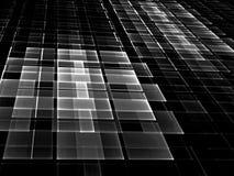 Абстрактная checkered предпосылка - цифров произведенное изображение Стоковое фото RF