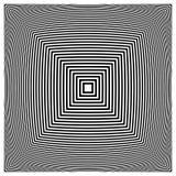 Абстрактная contrasty передернутая форма Стоковые Фотографии RF