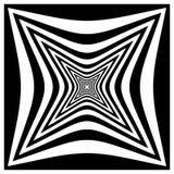 Абстрактная contrasty передернутая форма иллюстрация штока