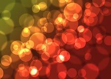 Абстрактная defocused предпосылка светов Стоковые Фотографии RF
