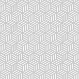 Абстрактная monochrome безшовная картина в азиатском стиле Стоковые Фото