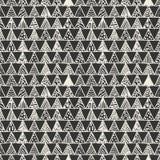 Абстрактная monochrome картина треугольников Стоковая Фотография RF