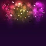 Абстрактная Multicolor предпосылка рождества Стоковые Фотографии RF