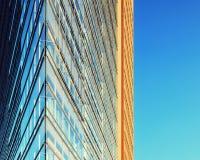 абстрактное архитектурноакустическое небо детали здания предпосылки Стоковые Изображения