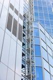 абстрактное архитектурноакустическое небо детали здания предпосылки Стоковое Изображение RF