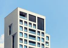 абстрактное архитектурноакустическое небо детали здания предпосылки Стоковые Изображения RF