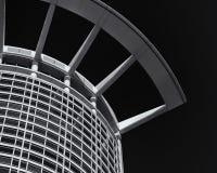 абстрактное архитектурноакустическое небо детали здания предпосылки Стоковое Фото