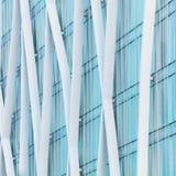 абстрактное архитектурноакустическое небо детали здания предпосылки Стоковая Фотография