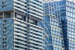 абстрактное архитектурноакустическое небо детали здания предпосылки Стоковая Фотография RF