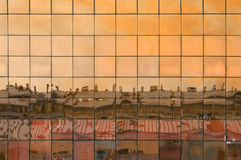 абстрактное архитектурноакустическое отражение Стоковые Фотографии RF